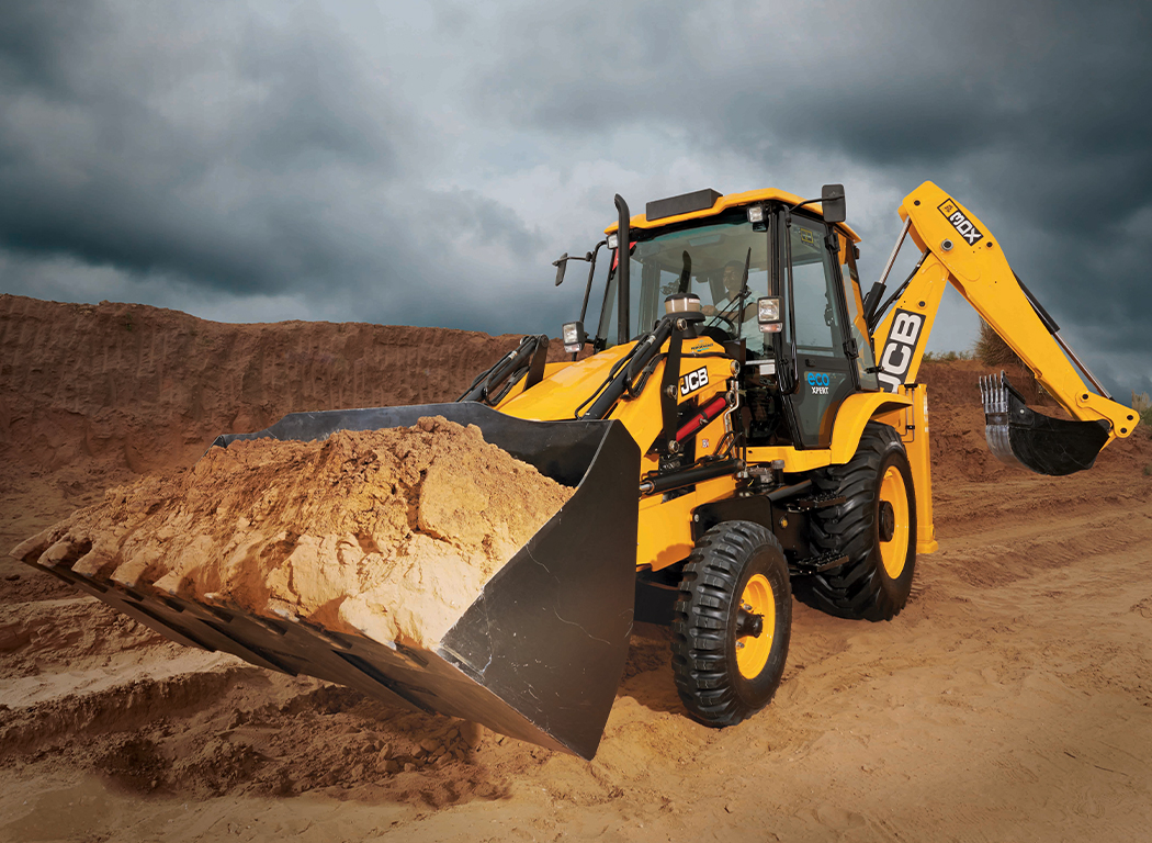 JCB 3DX ecoXPERT fuel efficiency