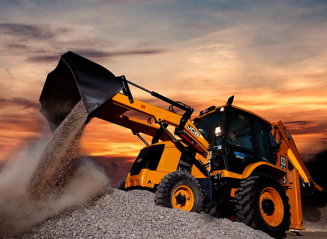 Low Maintenance Cost Machine - JCB 3DX ecoXPERT